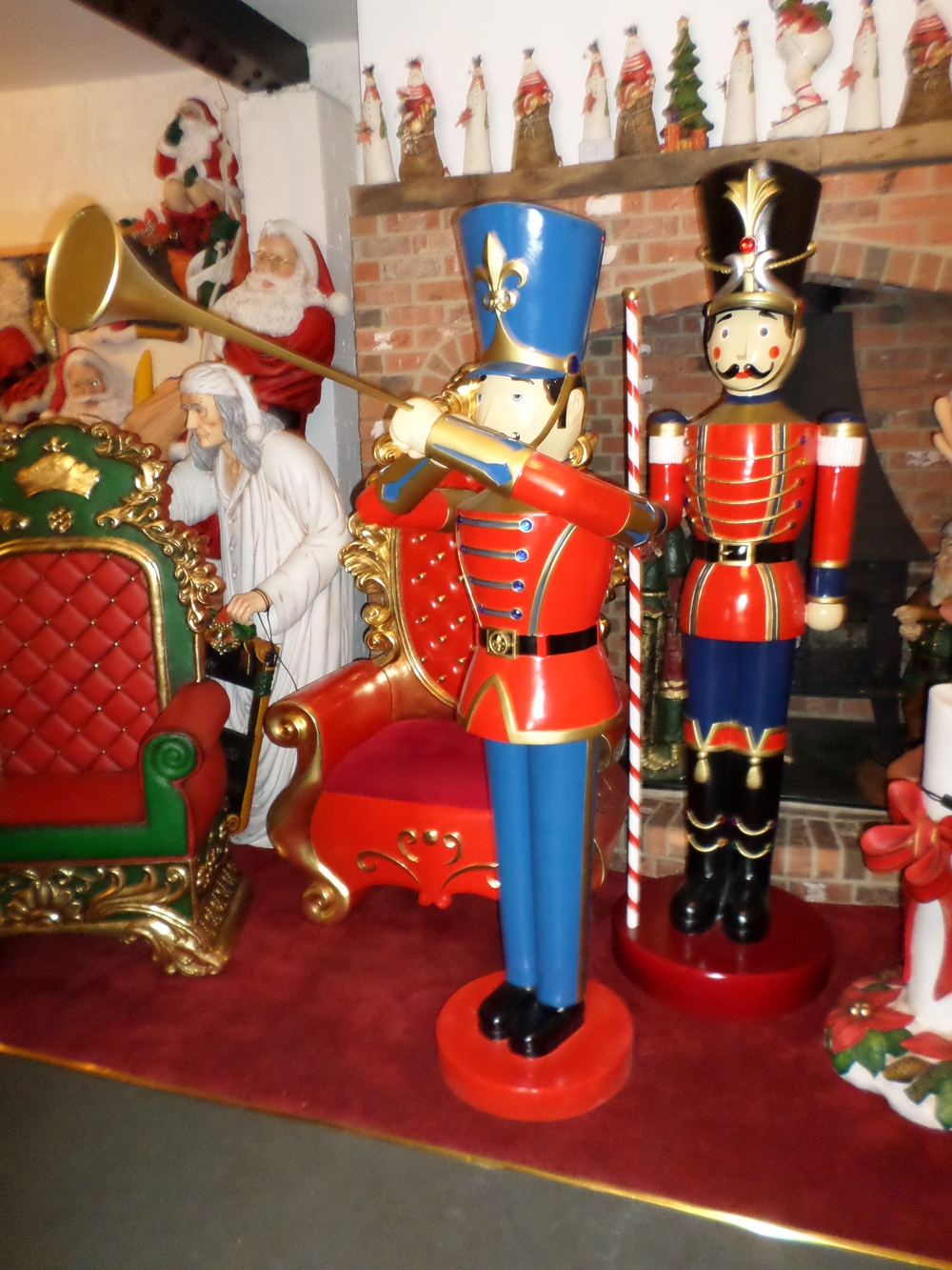 toy soldier with trumpet 6ft jr 140007 thumbnail 01 - Christmas Toy Soldiers